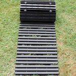 MUNDUS Chemin potager Noir 150 x 30 x 1,5 cm de la marque Mundus image 1 produit