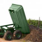 OSE Chariot de jardin/bûches capacité 120 kg de la marque OSE image 4 produit