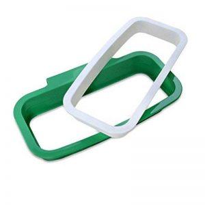 Ounona Porte d'armoire à suspendre le sac poubelle de déchets Sac poubelle support organiseur conteneurs de déchets en plastique support de sac pour cuisine (Vert) de la marque OUNONA image 0 produit