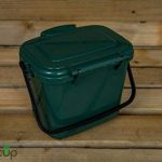 par Buttacup®, 5litre de cuisine Caddy/intérieur Matière Compost Poubelle de déchets de nourriture (couleur: vert foncé) de la marque Buttacup image 5 produit