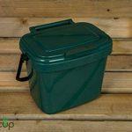 par Buttacup®, 5litre de cuisine Caddy/intérieur Matière Compost Poubelle de déchets de nourriture (couleur: vert foncé) de la marque Buttacup image 0 produit