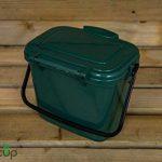 par Buttacup®, 5litre de cuisine Caddy/intérieur Matière Compost Poubelle de déchets de nourriture (couleur: vert foncé) de la marque Buttacup image 4 produit