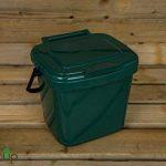 par Buttacup®, 7litre de cuisine Caddy/intérieur Matière Compost Poubelle de déchets de nourriture (couleur: vert foncé) de la marque Buttacup image 0 produit