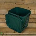par Buttacup®, 7litre de cuisine Caddy/intérieur Matière Compost Poubelle de déchets de nourriture (couleur: vert foncé) de la marque Buttacup image 6 produit