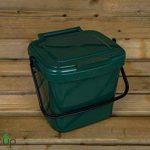 par Buttacup®, 7litre de cuisine Caddy/intérieur Matière Compost Poubelle de déchets de nourriture (couleur: vert foncé) de la marque Buttacup image 1 produit