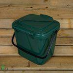 par Buttacup®, 7litre de cuisine Caddy/intérieur Matière Compost Poubelle de déchets de nourriture (couleur: vert foncé) de la marque Buttacup image 4 produit