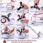 petit chariot à roulettes pliable TOP 9 image 4 produit