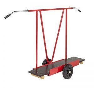 Plaque Chariot avec poignées amovibles, pour transport de marchandises volumineuses de la marque Erhard-Trading Industriebedarf image 0 produit
