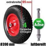 pneu pour roue de brouette TOP 4 image 3 produit