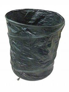 PopUp Sac à déchets de jardin gazon Sac Vert Coupe Sac Sac pour déchets de jardin 270l rond Feuilles – de la marque Mojawo image 0 produit
