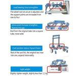 Portable Pliable extérieur chariot de voyage chariot de courses chariot bagages Jak-tung Cart de la marque Pawaca image 6 produit