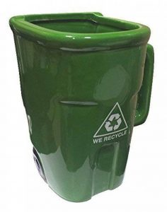 Poubelle de recyclage-Mug-Vert de la marque Simply Mugs image 0 produit