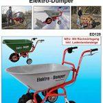 Powerpac ED120 Brouette à moteur électrique de la marque PowerPac Baumaschinen GmbH image 1 produit