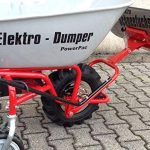 POWERPaC pelle 740 mm avec bande en acier inoxydable et adaptateur pour eD120 brouette à moteur aKKUSCHNEERÄUMER aKKUSCHNEESCHIEBER électrique de la marque PowerPac Baumaschinen GmbH image 2 produit