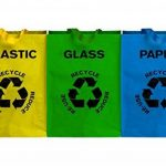 Premier Housewares 1900261 Lot de 3 Bacs à Tri Papier/Plastique/Verre de la marque Premier Housewares image 2 produit