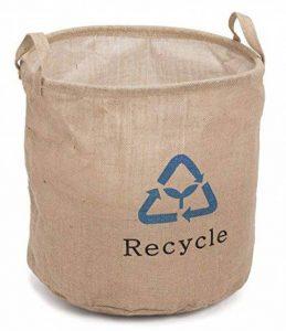 Prestige Panier en osier de rangement de recyclage Sac à provisions, naturel, 37x 37x 37cm de la marque Prestige Wicker image 0 produit