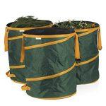 Prima Garden Sac pour déchets de jardin 160 L | Lot de 3 | Fonction pop-up | indéchirables – Imperméable – Fermeture de la marque PRIMA GARDEN image 1 produit