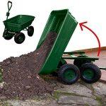 ProBache - Chariot remorque de jardin vert basculant de la marque Probache image 1 produit