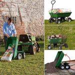 ProBache - Chariot remorque de jardin vert basculant de la marque Probache image 2 produit