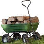 ProBache - Chariot remorque de jardin vert basculant de la marque Probache image 3 produit