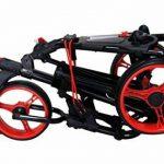 QWIK-FOLD Chariot À 3 Roues Chariot De Golf À Pousser À Tirer - Frein Au Pied - Une Seconde Pour L'Ouvrir Et Le Fermer! de la marque QWIK-FOLD image 1 produit