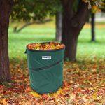 Relaxdays Sac ramassage feuilles mortes pliable Pliant sac jardinage déchets 85 litres de la marque Relaxdays image 1 produit