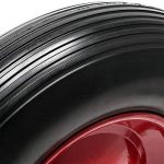 Roue complète de brouette en polyuréthane increvable Grandeur 4.80 / 4.00-8 de la marque WilTec image 4 produit