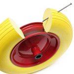 roue de brouette increvable avec axe TOP 5 image 4 produit