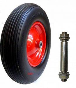 roue de brouette pleine avec axe TOP 2 image 0 produit