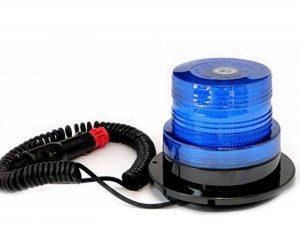 Ryme Automotive–Gyrophare Bleu 12V/24VLED bleu–12/24V de la marque Ryme Automotive image 0 produit