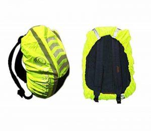 Sac à dos Sac à dos haute visibilité Housse imperméable résistant aux intempéries Protection d'écran pour cyclisme Course à Pied Marche dans le noir réfléchissant de la marque Danshicar Refelctive Bag Cover image 0 produit