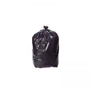 Sac Poubelle Noir Haute Résistance - 130 Litres / paquet de 100 sacs de la marque Pakup-Emballage image 0 produit