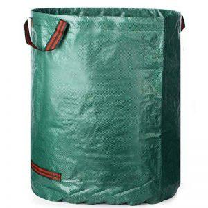 Sacs à déchets de jardin autonomes Big Bag Sacs poubelles Sacs avec poignées 26x30inch Vert 1 de la marque toyfun image 0 produit