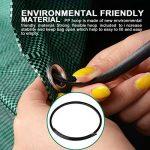 Sacs à déchets de jardin autonomes Big Bag Sacs poubelles Sacs avec poignées 26x30inch Vert 1 de la marque toyfun image 3 produit