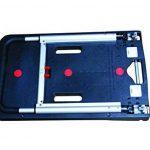 Safetool Manutention Chariot pliant en polypropylène capacité 140 kg 670 x 405 mm Noir de la marque Safe Tool image 1 produit