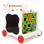 Small foot company 7393 - Rollers - Cube Actif Sur Roulettes - Ours de la marque Small foot company image 1 produit