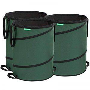 Songmics 3 x sac à déchets de jardin 160 L GTS160L de la marque SONGMICS image 0 produit