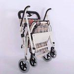 SSDM Prime Légère Pliable Très Facile À Utiliser Vieux Chariot À Quatre Tours En Alliage D'aluminium Chariot D'achat de la marque SSDM image 3 produit