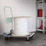 TecTake Chariot plateforme   pliable   Patin en caoutchouc antidérapant   -diverses modèles- de la marque TecTake image 1 produit