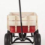 TOBY WAGONS Chariot à Tirer -La meilleure vente d'Europe panier. CE et EN71 Certifié, tirez, remorque, retro, kart, camion, ride sur voiture, enfant, jardin, jouet, jeux, Véhicules, transport, de la marque Toby Wagons image 1 produit