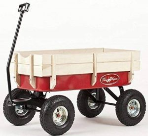 TOBY WAGONS Chariot à Tirer -La meilleure vente d'Europe panier. CE et EN71 Certifié, tirez, remorque, retro, kart, camion, ride sur voiture, enfant, jardin, jouet, jeux, Véhicules, transport, de la marque Toby Wagons image 0 produit