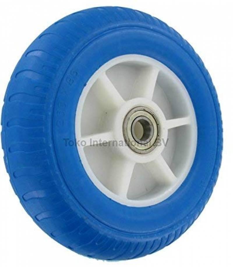 Deux pneumatique solide Tubeless Sack Go panier Barrow roues jamais Perforation Caoutchouc