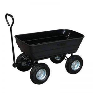 Turfmaster Chariot de jardin 4 roues - Cuve Basculante - 250 kg - TC-250 de la marque Turfmaster image 0 produit
