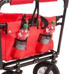 Ultrasport chariot pliable / charriot / charriot de pique-nique, charrette à bras avec housse de transport, supportant une charge maximale de 55kg de la marque Ultrasport image 4 produit