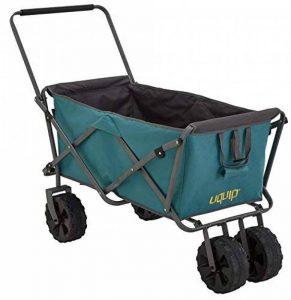 Uquip Buddy – Chariot De Plage Pliant – Capacité de Charge 100 Kg de la marque Uquip image 0 produit