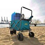 Uquip Buddy – Chariot De Plage Pliant – Capacité de Charge 100 Kg de la marque Uquip image 1 produit