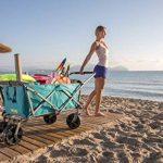 Uquip Buddy – Chariot De Plage Pliant – Capacité de Charge 100 Kg de la marque Uquip image 4 produit