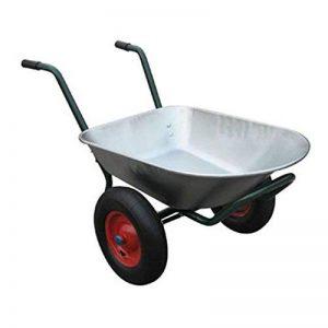 Varan Motors wb6407Brouette avec 2roues, 80L, max 120kg de la marque Varan Motors image 0 produit