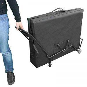 Vivezen ® Chariot à roulettes pliable et transportable pour table de massage - Norme CE de la marque Vivezen image 0 produit