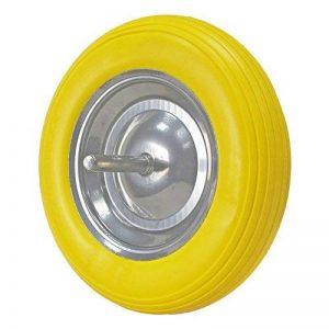 Wolfpack Roue de brouette massive jaune de la marque WOLFPACK image 0 produit